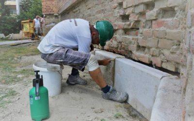 2019.07.29. Jól halad a református templom renoválása